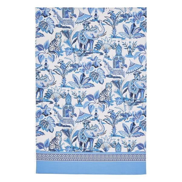 Ulster Weavers India Blue Tea Towel Blue