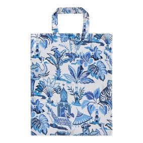 Ulster Weavers India Blue Medium PVC Bag