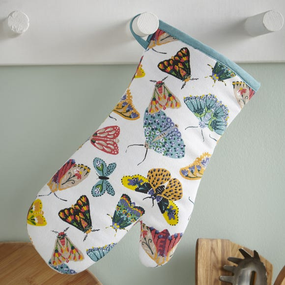 Ulster Weavers Butterfly House Oven Glove Multi Coloured