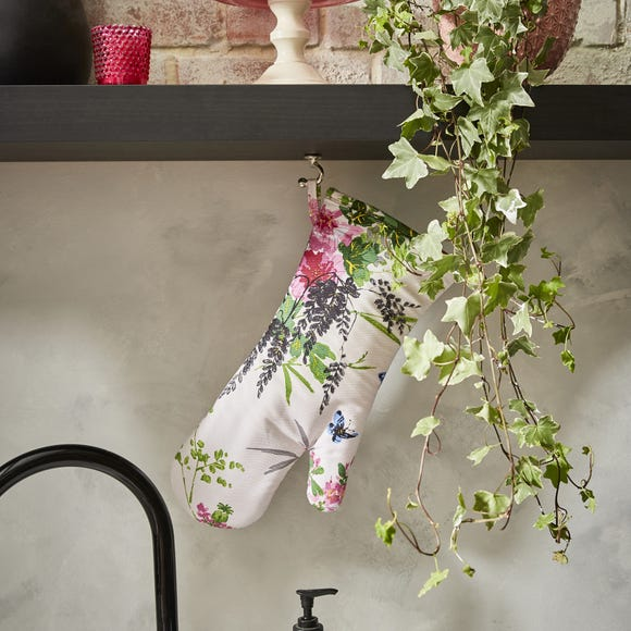 Ulster Weavers Madame Butterfly Oven Glove Green