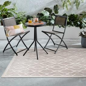 Mendoza Natural Geometric Indoor Outdoor Rug