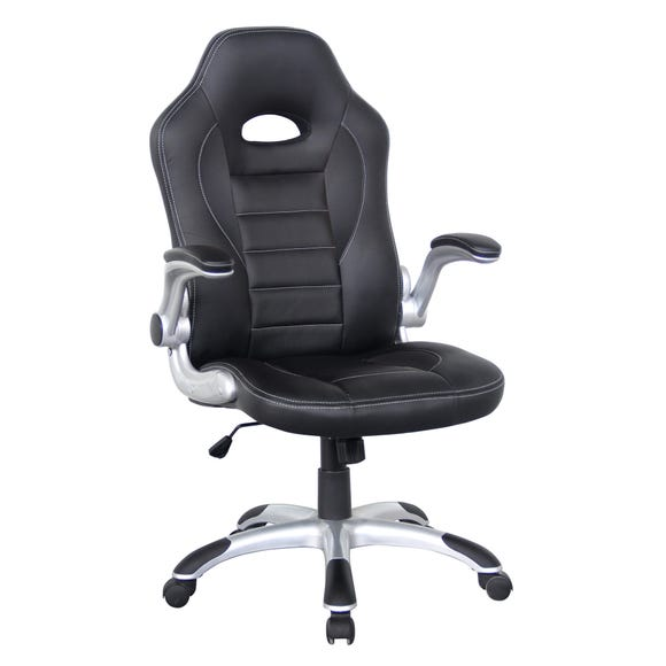 Talladega Gaming Chair Black