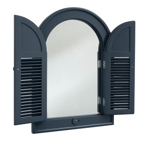 Galaxy Arched Outdoor Mirror