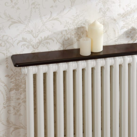 Mahogany Effect Radiator Shelf  undefined