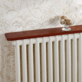 Oak Effect Radiator Shelf