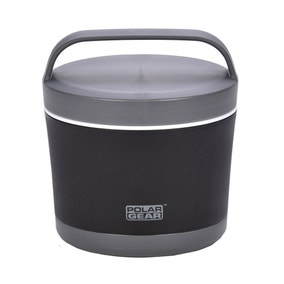 Polar Gear Black Lunch Box