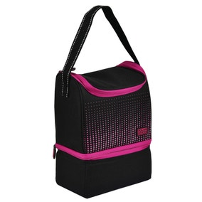 Polar Gear Berry Optic Dot 2 Compartment Lunch Bag