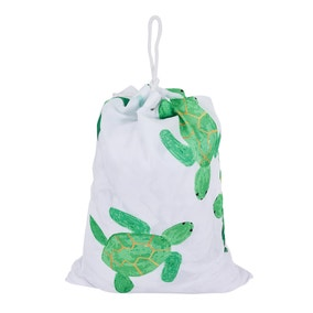 Turtles Drawstring Bag
