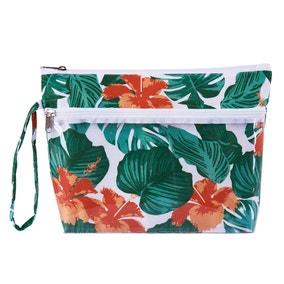 Tropical Leaf Wash Bag