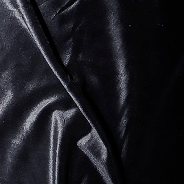 Stretch Velvet Fabric Black