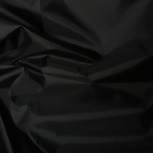 Ripstop Polyester Black Black