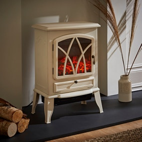 Small White Stove Heater