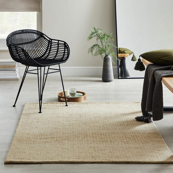 Boucle Wool Rug Boucle Natural undefined