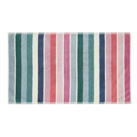 Joules Lost Garden 100% Cotton Striped Bath Mat