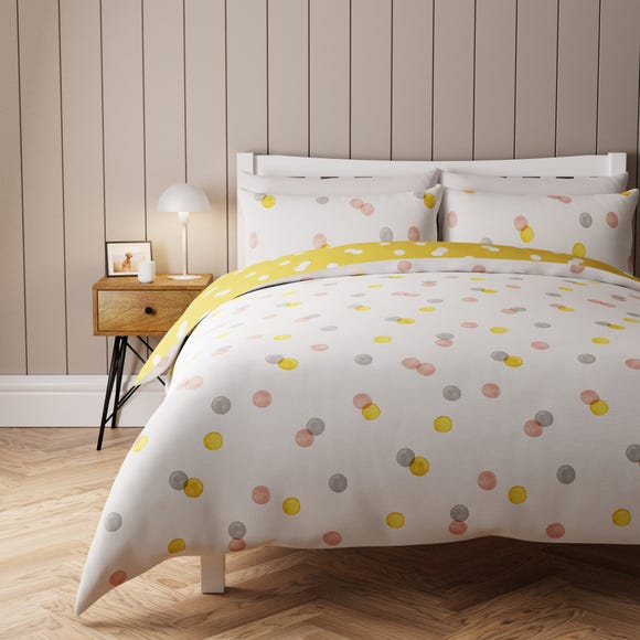 Nuala Reversible Duvet Cover and Pillowcase Set  undefined