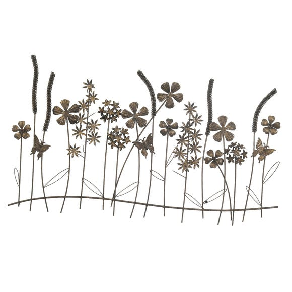 Secret Garden Wall Art Black