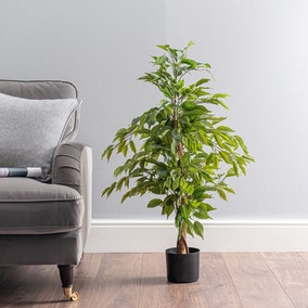 Outdoor Artificial Ficus Tree 100cm
