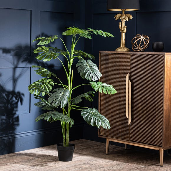 Outdoor Artificial Philodendron Plant 130cm Green