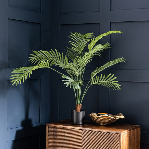 Artificial Areca Palm Plant 96cm Green