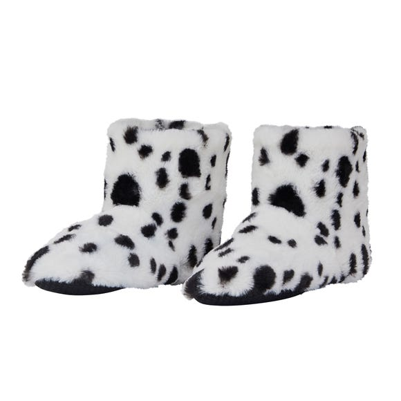Dalmatian Boot Slippers  undefined