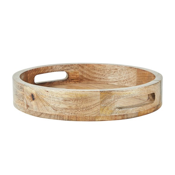 Wooden Tray Brown
