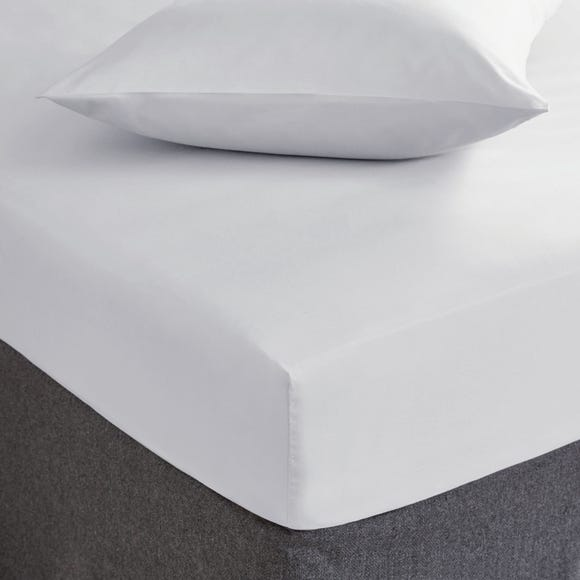 Hotel Cool and Fresh Tencel Fitted Sheet White undefined