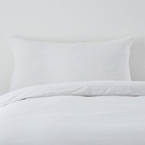 Hotel Cool and Fresh White Housewife Pillowcase Pair White