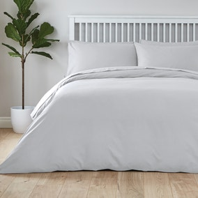 Hotel Cool and Fresh Silver Tencel Duvet Cover