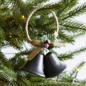 Duo of Bells Hanging Decoration