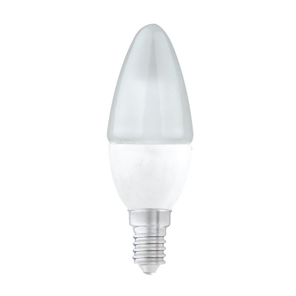 Status Branded 5.5 Watt SES Pearl LED Candle Bulb Clear