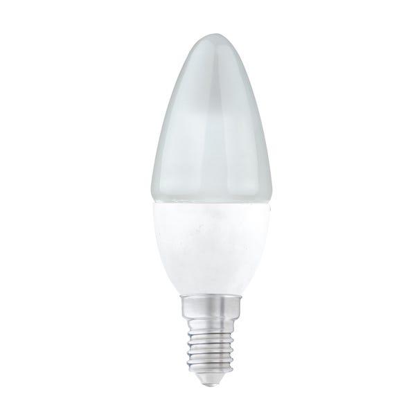 Dunelm 5.5 Watt SES Pearl LED Candle Bulb Clear