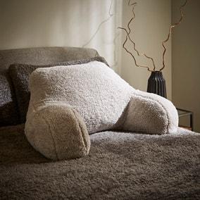 Teddy Bear Grey Cuddle Cushion