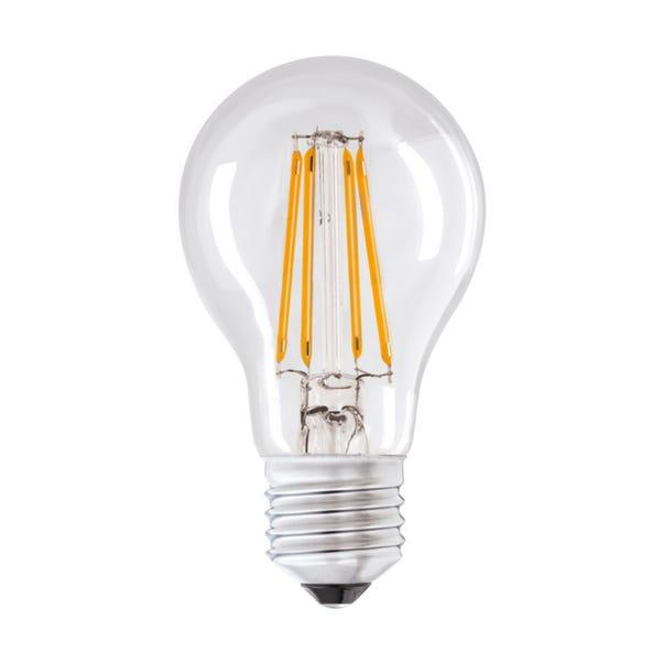 Status 4 Watt ES LED Filament GLS Bulb Clear