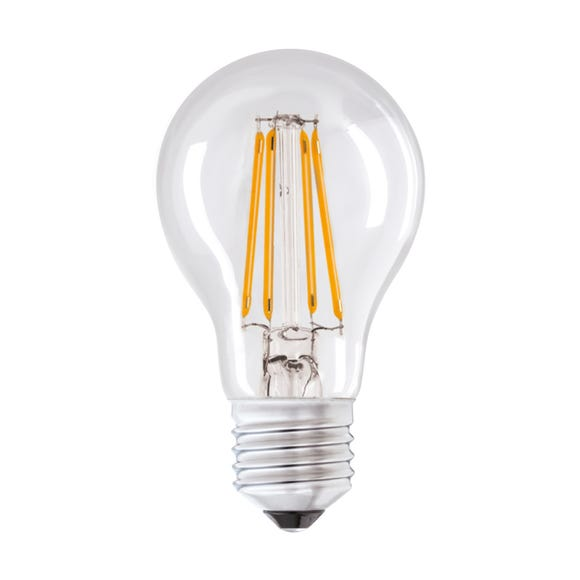 Status 6 Watt ES LED Filament GLS Bulb Clear