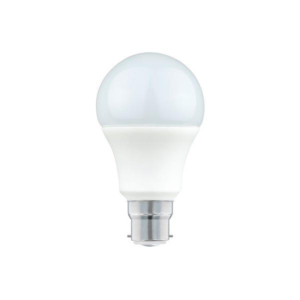 Dunelm 9 to 10 Watt BC LED GLS Bulb White