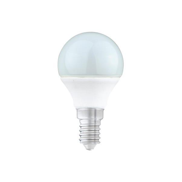 Status 5.5 Watt LED SES Dimmable Round Bulb White