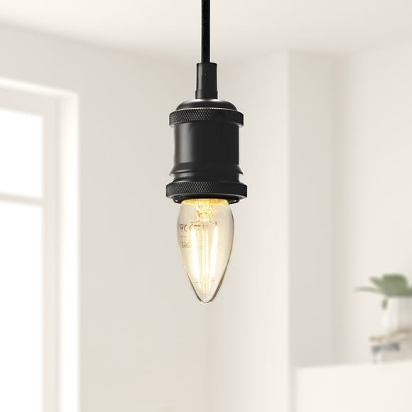 Dunelm 2 Watt SES LED Filament Candle Bulb Clear