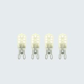 Status 2.2 Watt G9 LED Warm White Light Bulb 4 Pack