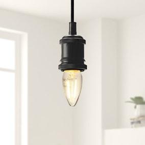Dunelm 2 Watt SES LED Filament Candle Bulb 3 Pack