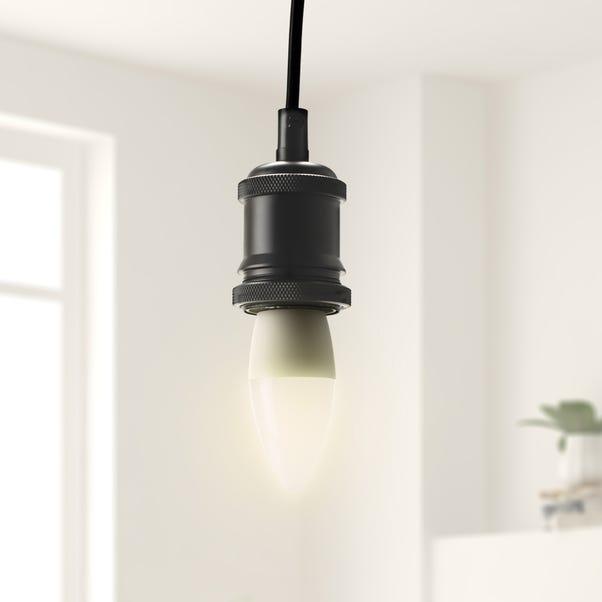 Status 5.5 Watt BC Pearl LED Candle Bulb Clear