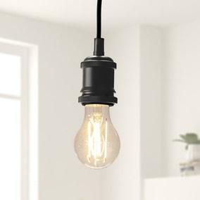 Status Branded 6 Watt ES LED Filament Bulb GLS 3 Pack