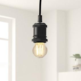 Status Dimmable 5.5 Watt LED ES Pearl Round Bulb