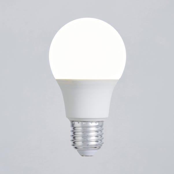 Dunelm 9 Watt ES Pearl LED GLS Bulb White