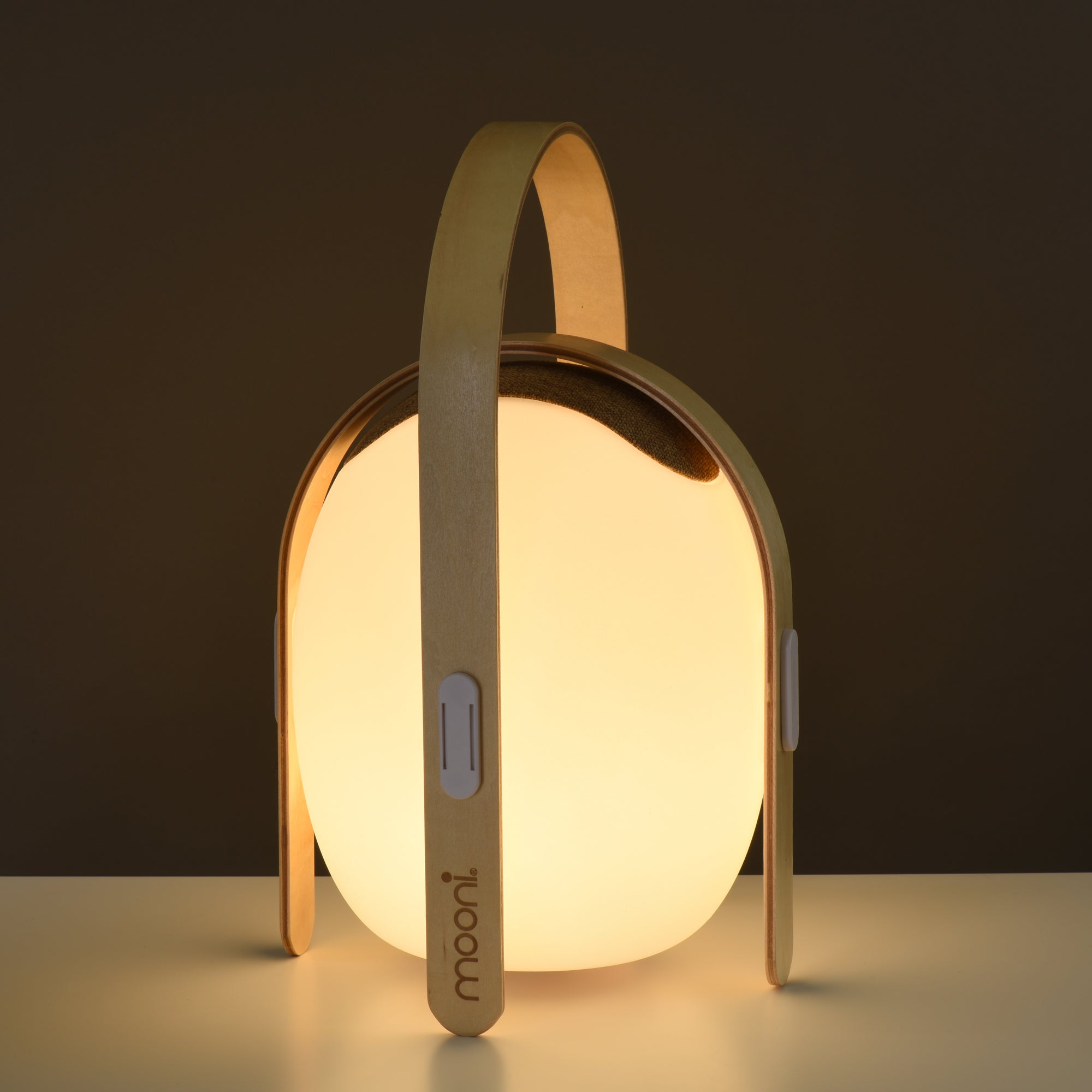 Koble Koble Ovo Mini Bluetooth Speaker Lamp Brown