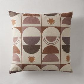 Bauhaus Style Multi-Coloured Cushion