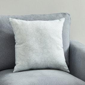 Blooms Grey Repeat Cushion
