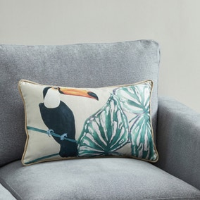 Jungle Tucan Cushion
