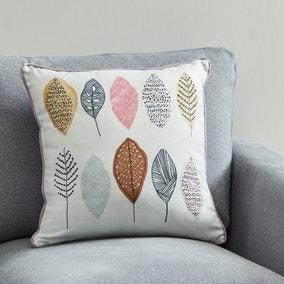 Modern Leaves Scandi Cushion
