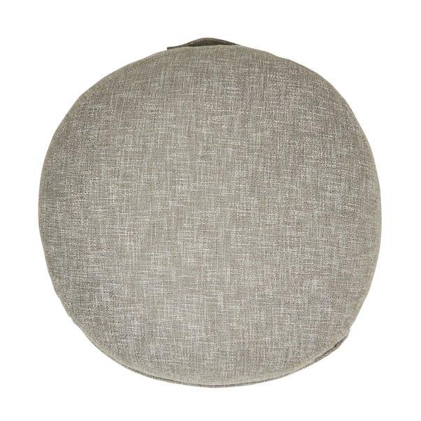 Boucle Slate Floor Cushion Slate