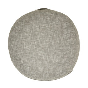 Boucle Slate Floor Cushion